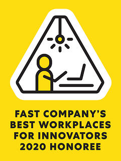 2020 Honoree - Fast Company's Best Workplaces for Innovators
