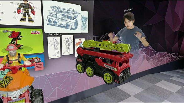 Spatial Virtual Meeting - Mattel