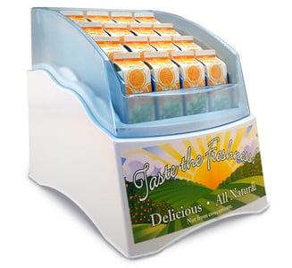 Juice Chiller Retail Merchandising Innovation