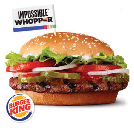 Burger King's Delivers Innovation with Meatless Impossible Burger