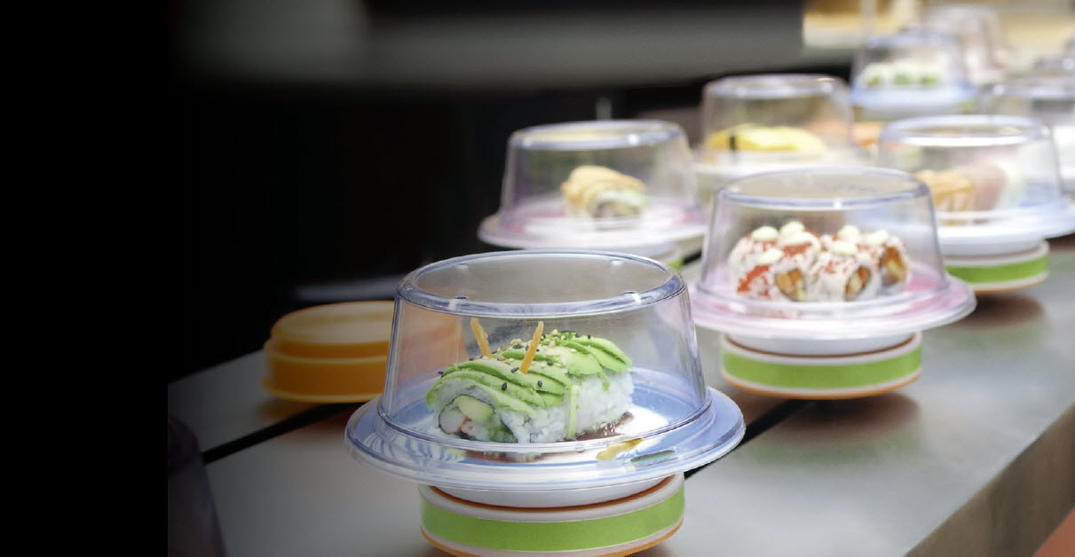 Disruptive Innovation - Conveyer Belt Sushi
