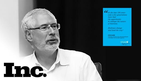 Steve Blank on Innovation