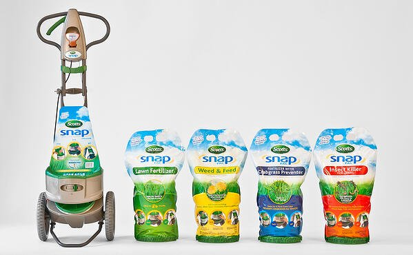 Scotts Snap Lawn Care Product Innovation by Nottingham Spirk