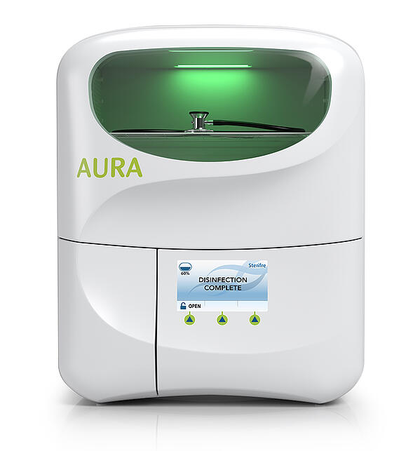 Sterifre Aura Disinfectant Medical Device Innovation