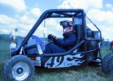 Bill Rabbitt's Baja Car