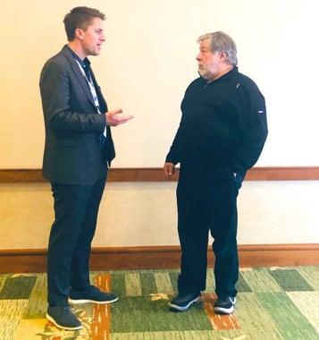 Bill and Apple co-founder Steve Wozniak
