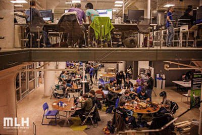 Nottingham Spirk was a Sponsor and Participant in the CWRU Hackathon