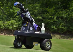 Rover, the First Autonomous Golf Caddie