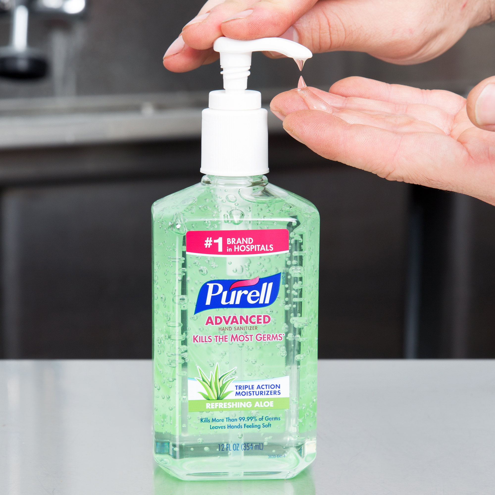 Purell Hand Sanitizer Branding & Packaging Innovations