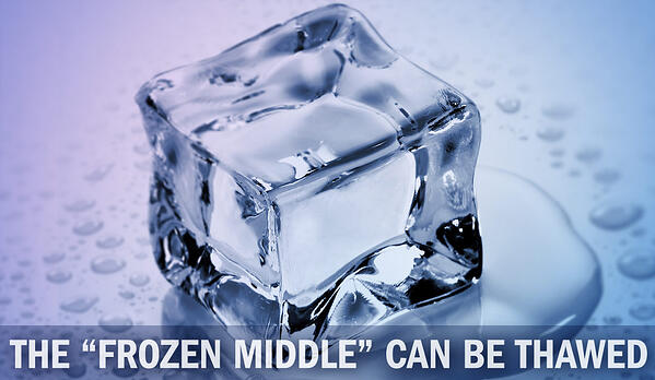 """the """"frozen middle"""" of middle management can be thawed"""