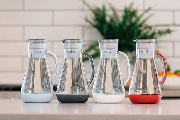 Hydros Carafes with Interchangeable Water Filter
