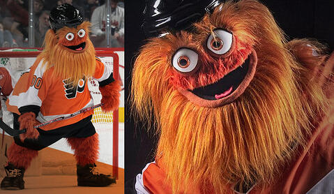Gritty the Mascot - Successful Product Launch
