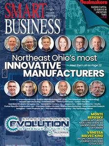 Smart Business Cleveland Cover - April 2021