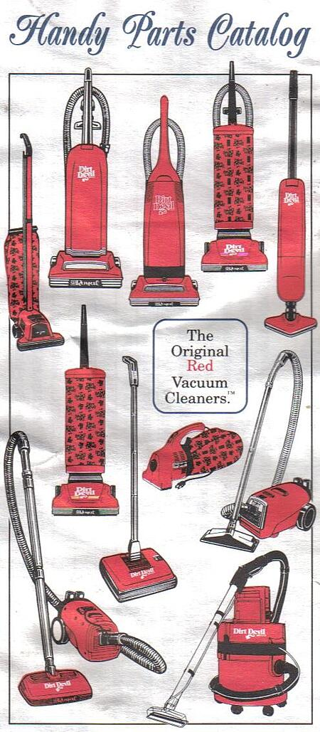 the original red vacuum cleaners