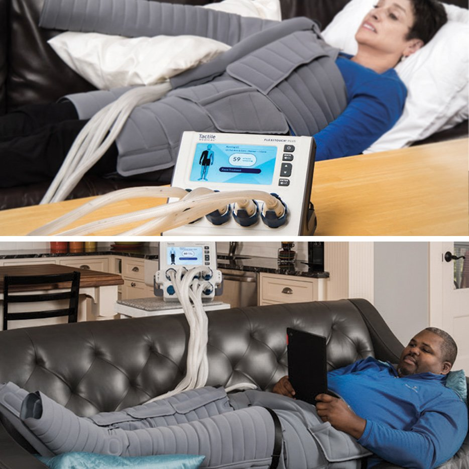 Tactile Medical Flexitouch Plus - Home Healthcare Innovations
