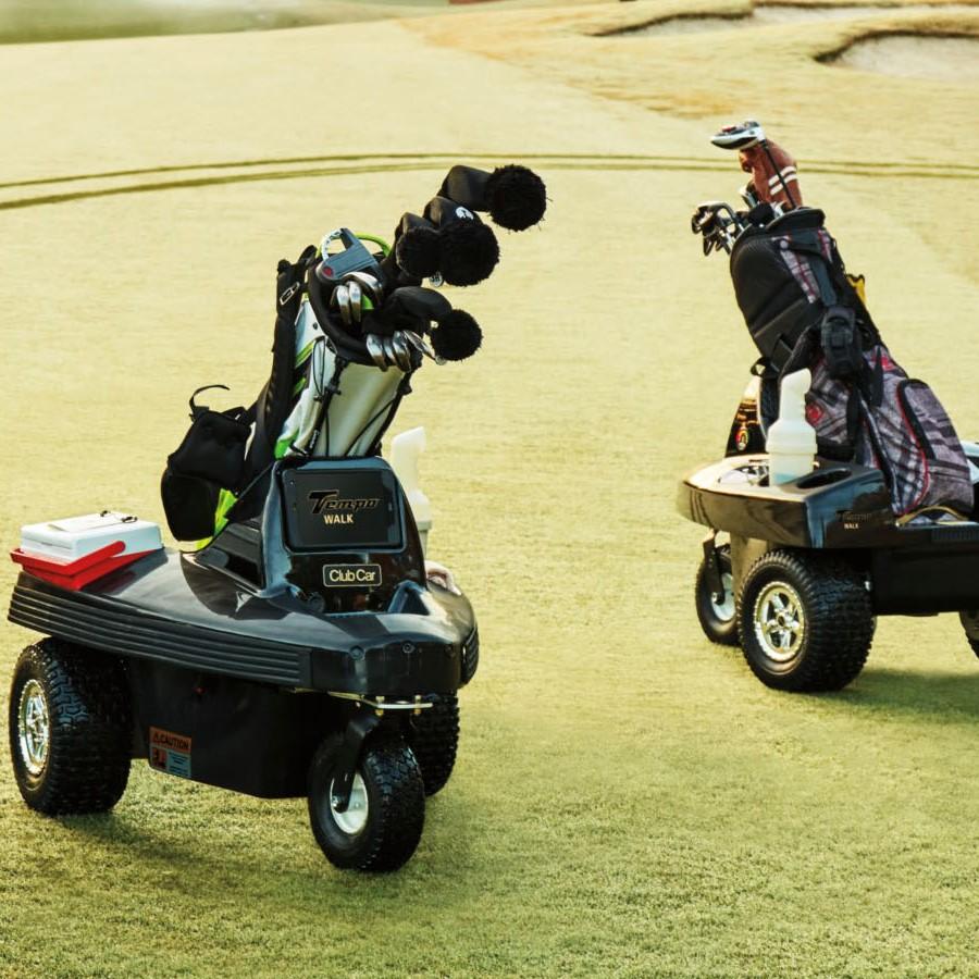 Club Car Tempo Walk Autonomous Caddy Developed with Nottingham Spirk